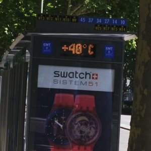 termomentro madrid descubramadrid 40 graus